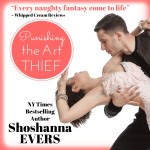 Punishing the Art Thief Audiobook by Shoshanna Evers