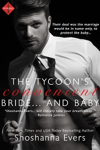 The Tycoon's Convenient Bride...and Baby by Shoshanna Evers, Entangled Indulgence contemporary romance