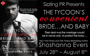 The Tycoon's Convenient Bride...and Baby by Shoshanna Evers Blog Tour and Giveaway