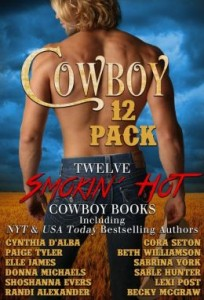 Cowboy 12 Pack featuring I am Not Your Melody by Shoshanna Evers